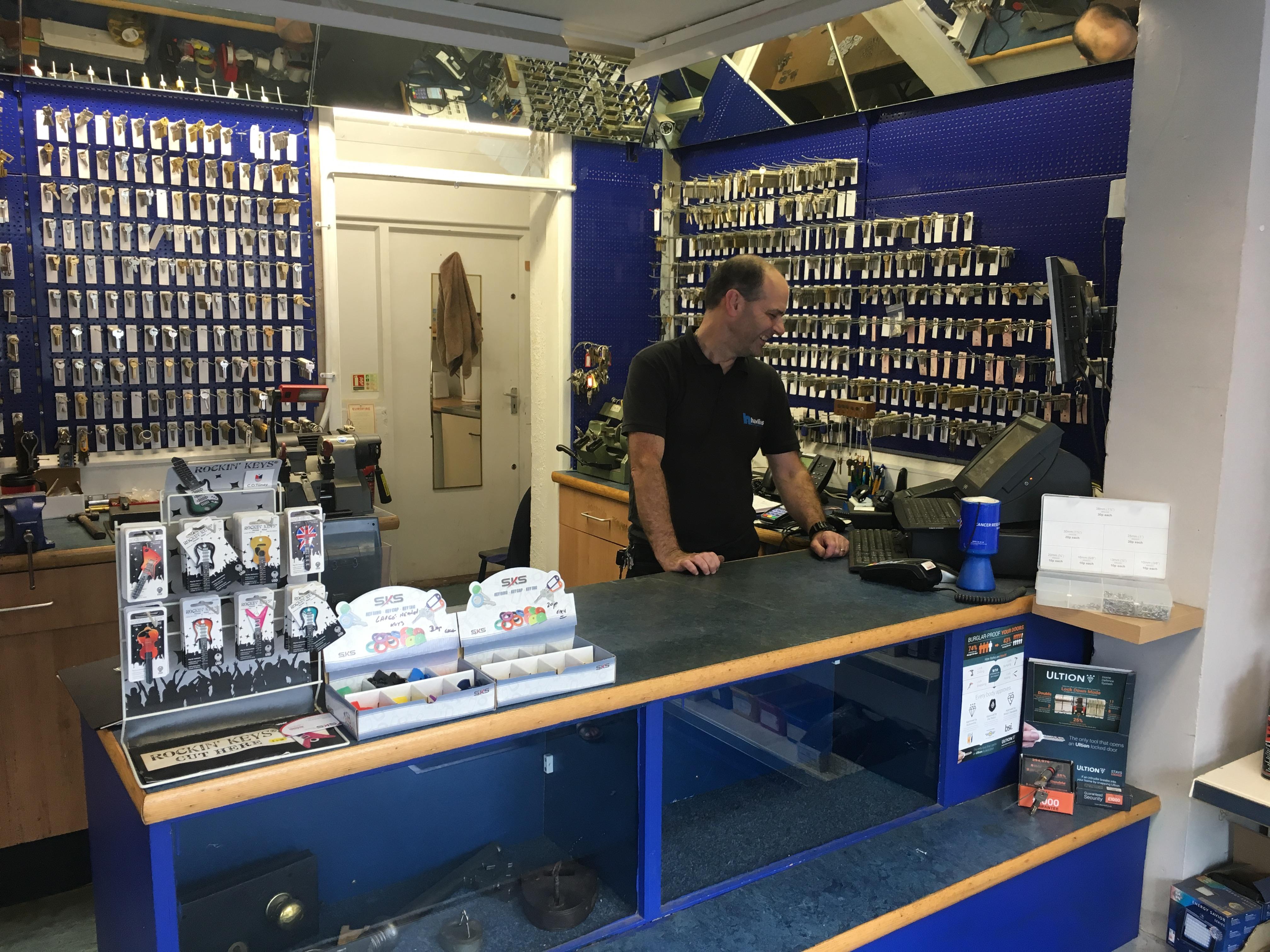 Bangor shop interior